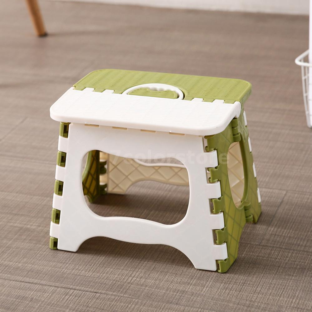 Plastic Folding Step Stool Portable Folding Chair Small
