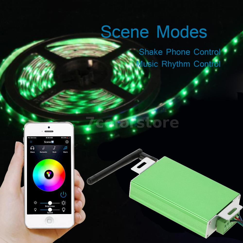 30a Wireless Smart Remote Controller Dimmer For Rgb Led